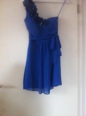 wunderschönes, blaues Kleid