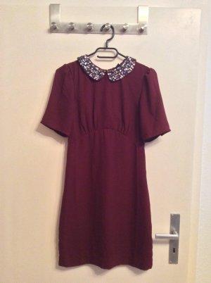 Wunderschönes bordeauxrotes Kleid von H&M