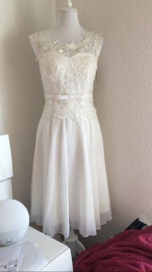 Juju & Christine Vestido de novia blanco