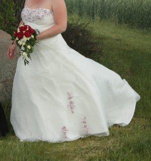 Wunderschönes Brautkleid A-Linie Gr. 44/46