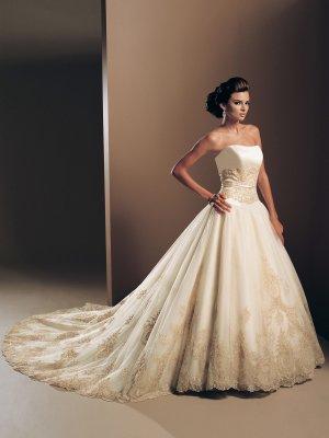 Wunderschönes Brautkleid der Marke Mon Cheri