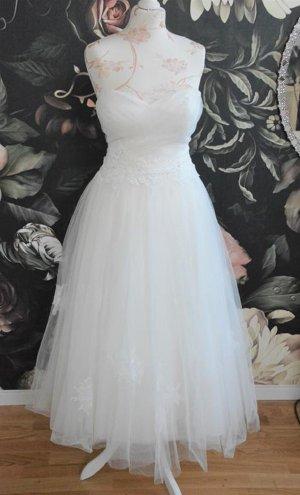 wunderschönes Brautkleid Hochzeitskleid Sweetheart ivory Gr. 36-38 Nr. 6085