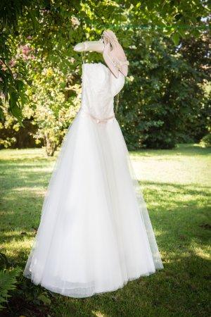 Wunderschönes Brautkleid: Ivory, Spitze, Größe 38