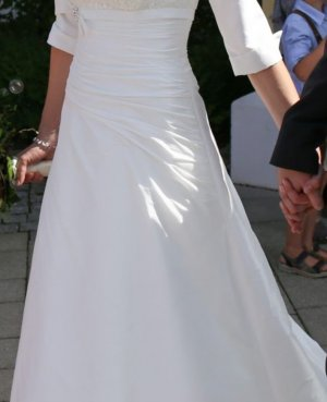 Agnes Wedding Dress natural white-white polyester
