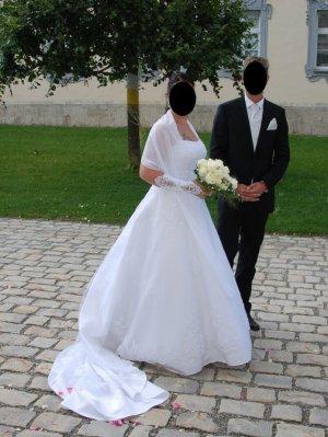 Bruidsjurk wit Nylon