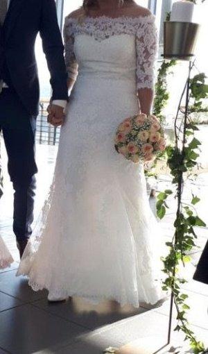 White Wedding Dress natural white