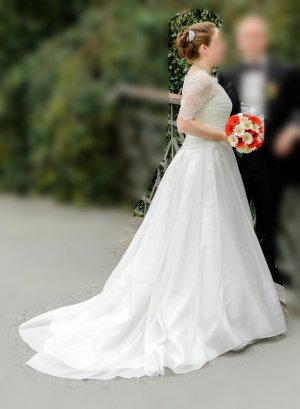 wunderschönes Brautkleid von Aire Barcelona