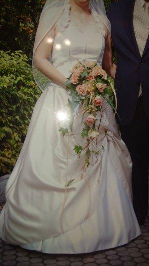 Lohrengel Wedding Dress cream-pink