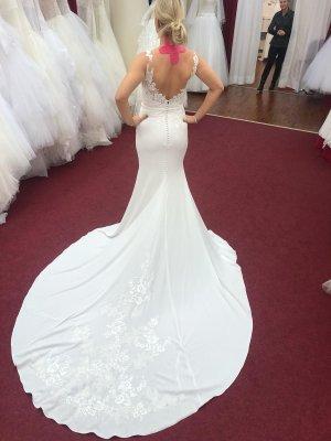 Wunderschönes Brautkleid von Pronovias mit Schleppe