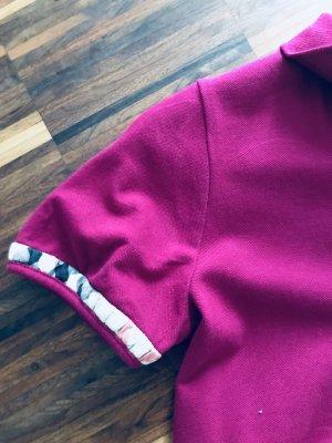 Burberry Camiseta tipo polo multicolor