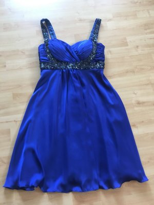 Wunderschönes Cocktailkleid in blau