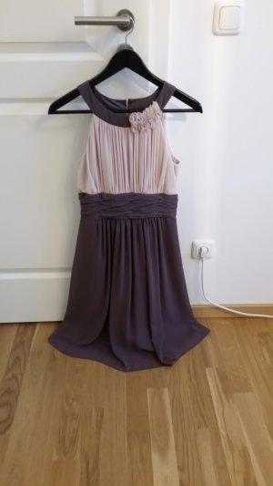 Wunderschönes Cocktailkleid in einer märchenhaften Farbkombination in Größe 34