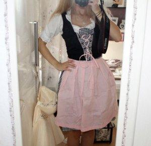 Vestido camisero rosa-azul oscuro