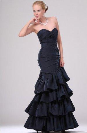 Wunderschönes dunkelblaues Abendkleid - perfekt für Abiball, Hochzeit o.ä.
