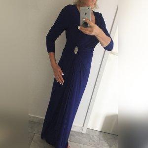 Wunderschönes edles hochwertiges Abendkleid, cannes blue, Ballkleid, Designerkleid
