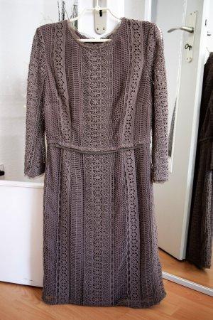 Wunderschönes edles Massimo Dutti Kleid in grau