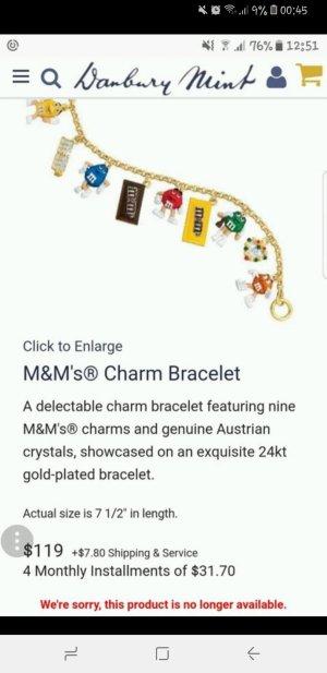Wunderschönes einzigartiges M&Ms Bettelarmband
