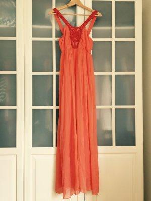 Wunderschönes fließendes Kleid aus Seide, neu mit Etikett
