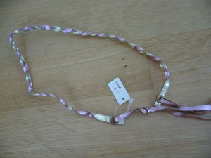 Wunderschönes geflochtenes Haarband aus Leder - NEU