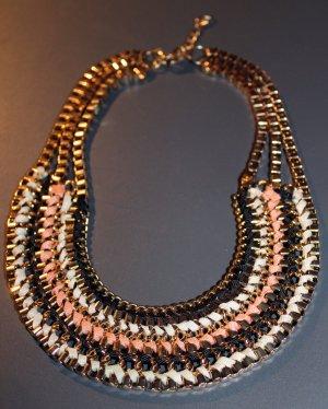 Wunderschönes goldenes edles Collier Halskette