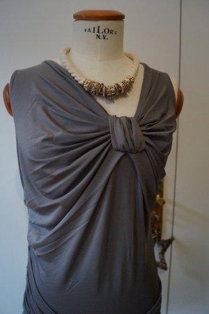 Wunderschönes graues Abend Kleid Gr.36