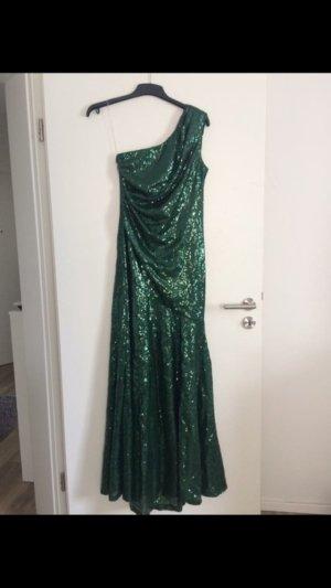 Wunderschönes grünes Abendkleid