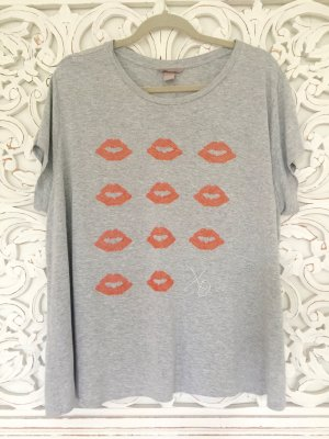 wunderschönes hellgraues T-Shirt von H&M * Gr. XL * NEU!