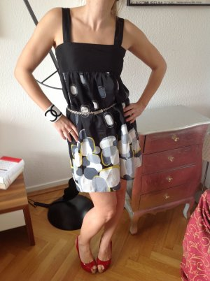 wunderschönes Hippie Kleid like Marni Prada Gr.36 wNEU miu Retro Sommerkled