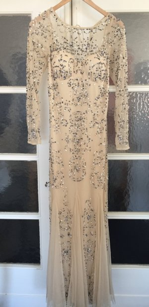wunderschönes hochwertiges Abendkleid von Adrianna Papell Pailletten