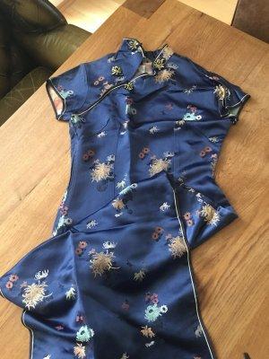 wunderschönes hochwertiges ASIA Kleid Made in Hong Kong/ nur 1x getragen