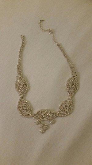 Wunderschönes hochwertiges Collier aus Strass im Cindarella Style