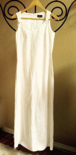 Wunderschönes, hochwertiges, weißes Leinenkleid Gr. 36/38 von Änny N
