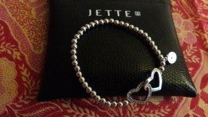 Wunderschönes Jette Joop Armband mit verbundenen Herzen