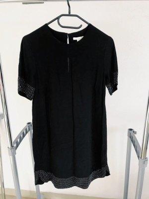 H&M Robe de soirée noir-argenté