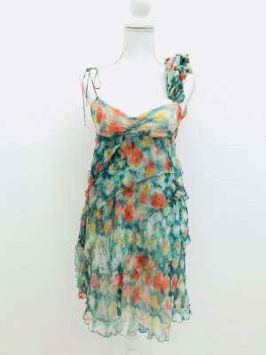 Wunderschönes Kleid aus 100% Seide  von Patrizia Pepe, flowerprint, Gr. 40IT/ S
