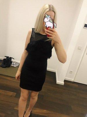 Topshop Mini vestido negro