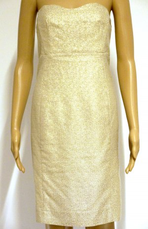 Wunderschönes Kleid für eine Party, gold, Gr. 36