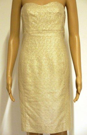 Wunderschönes Kleid für Party, gold, Gr. 36