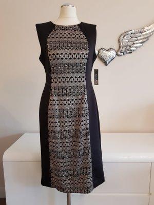 Wunderschönes Kleid goldbestickt & Pailetten