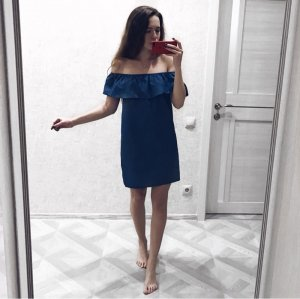 Wunderschönes Kleid im Denimstyle