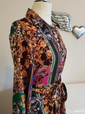 Robe multicolore polyester