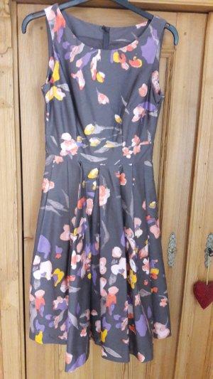 René Lezard Petticoat Dress multicolored cotton