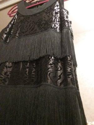 Wunderschönes Kleid mit Pailletten und Fransen von COMMA....wie NEU!!!!( NP 130 Euro)..Schnäppchenpreis!!!!
