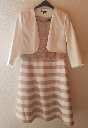 Comma Kanten jurk veelkleurig