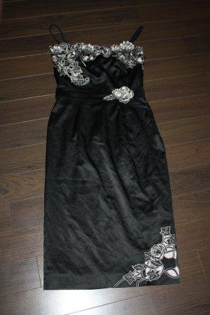 Wunderschönes Kleid mit Stickerei und Steinchen von Karen Millen in Gr. 36