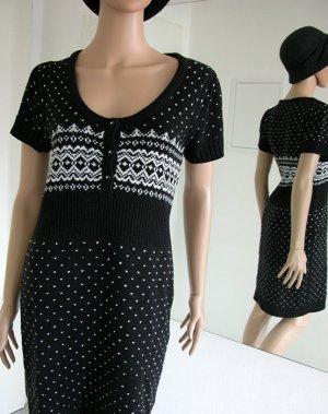 Wunderschönes Kleid, schwarz/weiß, Gr. M