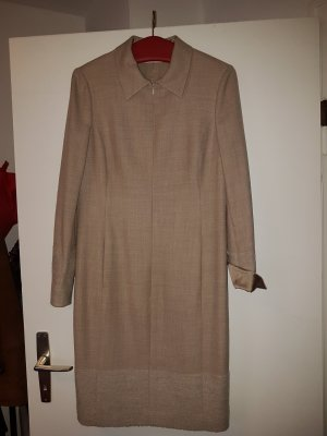 Akris Longsleeve Dress oatmeal