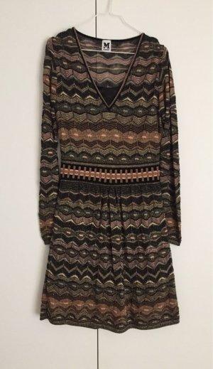 Wunderschönes Kleid von Missoni, Metallic Optik, Strick, Größe 38