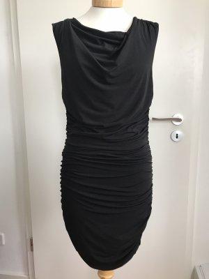 Apart Robe de cocktail noir polyester