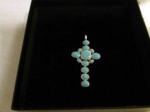 Wunderschönes Kreuz italienische  Desinger( 925 Silber)